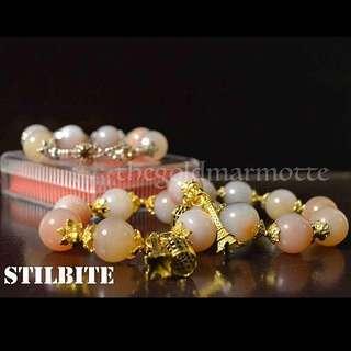 Stilbite Charm Bracelet