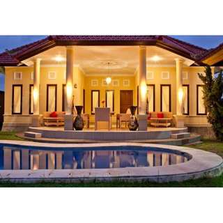 3 Bedroom villa with Kitchen, Garden and Pool