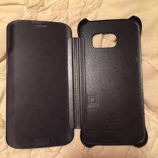 S6 Edge Flip Cover Case
