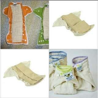 Cloth Diaper Nappy Prefolds