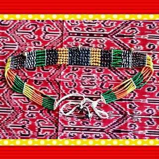 75' Orang Ulu Women Belt For Custome