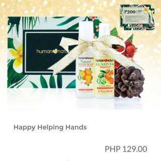 Human Heart Nature Happy Helping Hands Gift Set