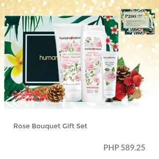 NEW ITEM! Expected to Arrive On 12Nov2016 Human Heart Nature Rose Bouquet Gift Set