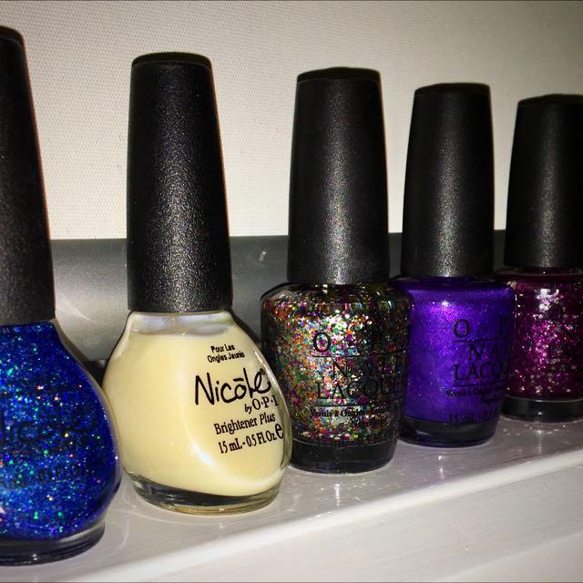 5 Brand New OPI Nail Polishes