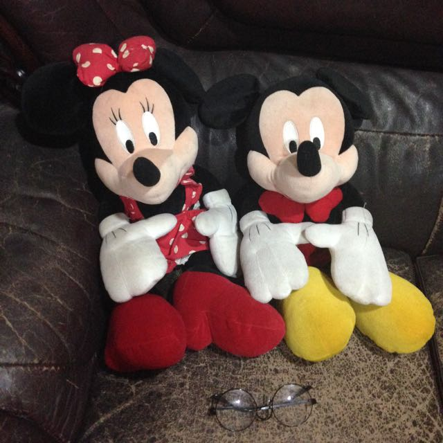 米奇米妮一對情侶娃娃❤️(不拆售)