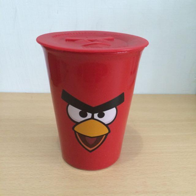 憤怒鳥雙層陶瓷杯(紅鳥)