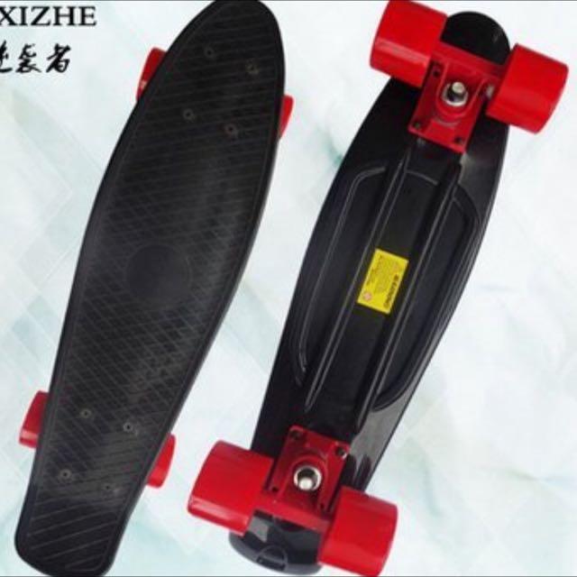 滑板 小魚板 交通板