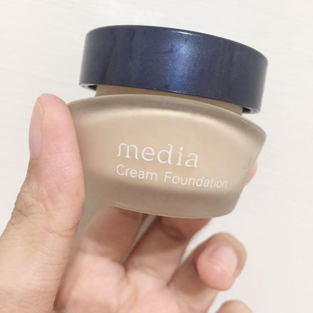 媚點小圓罐 Media POB1粉膚色