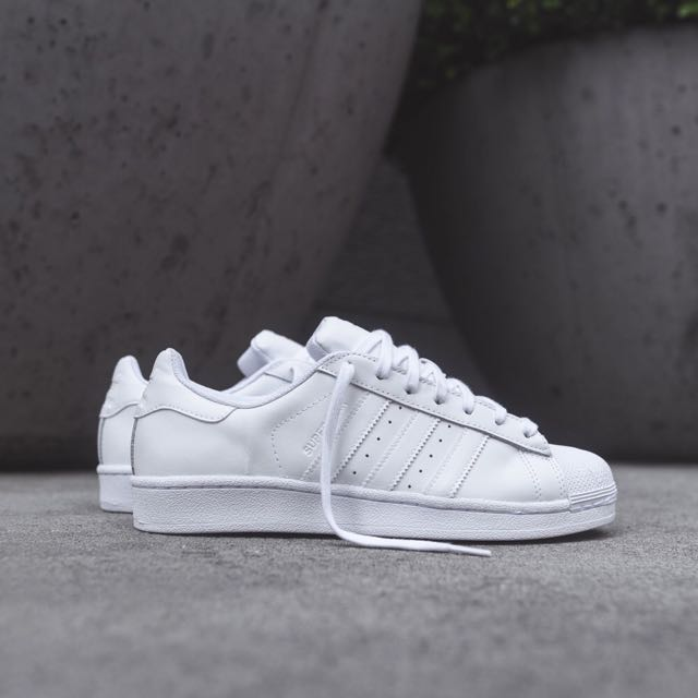 Adidas Superstar 全白(二手)