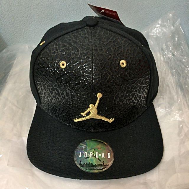 a67af0d04336 ... spain air jordan cap limited edition price cut mens fashion accessories  on carousell 658a0 aa93e
