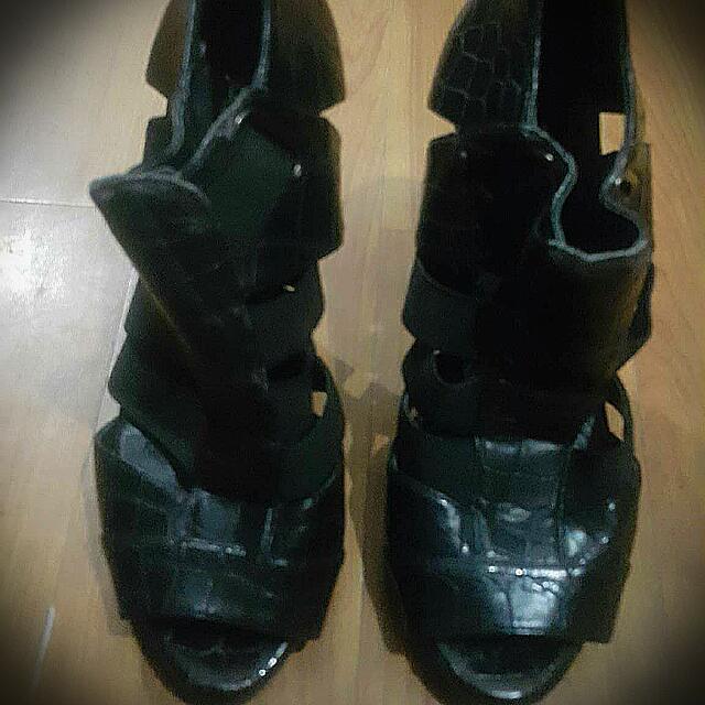 Aldo Strappy Heels