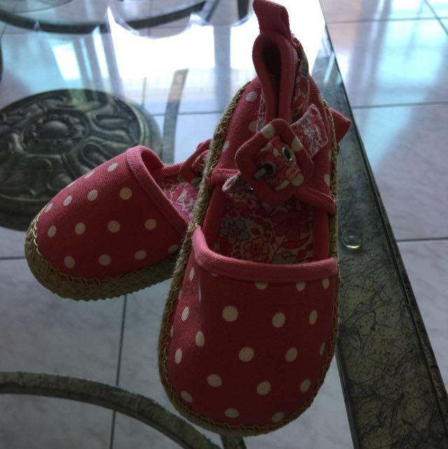 全新Baby Gap女童鞋15公分