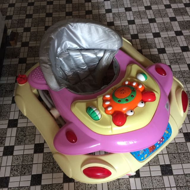 Baby Walker With Music Buttons