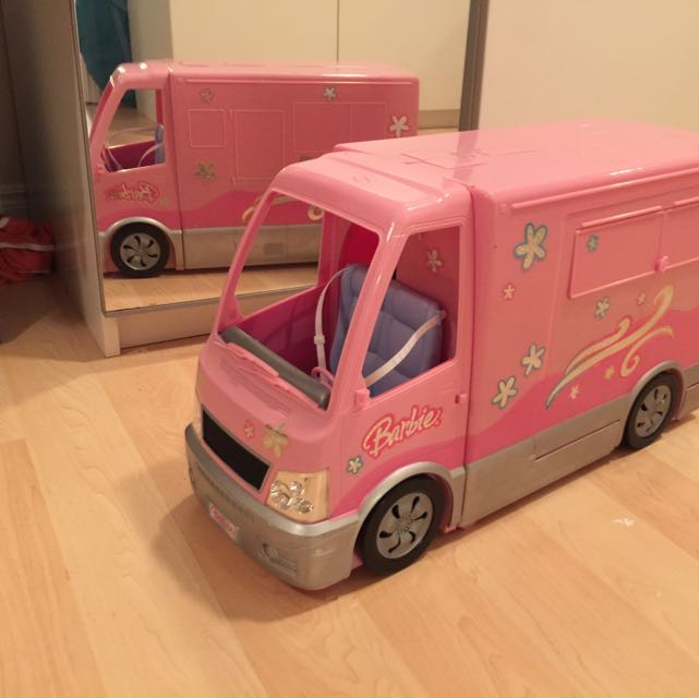 Barbie Hellacoolparty Van