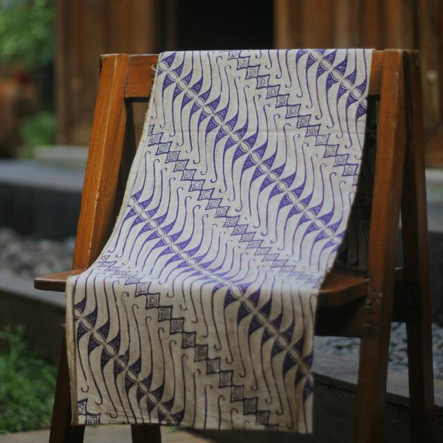 Batik Tulis Parang Purple