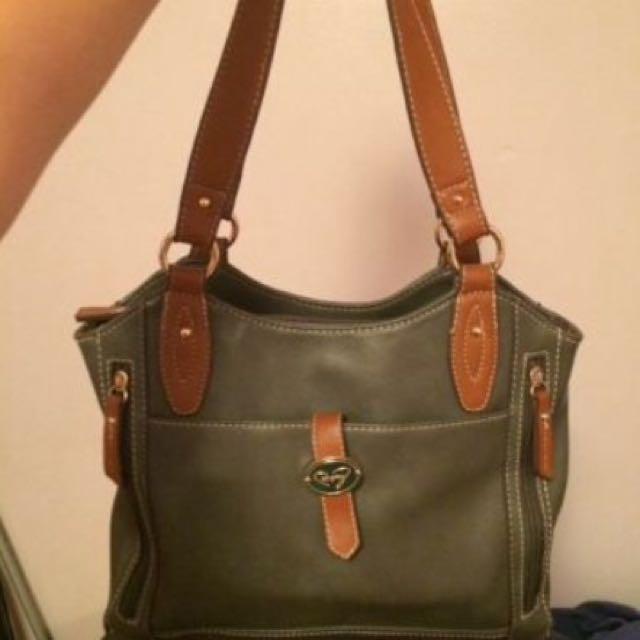 Bentley Faux Leather Handbag
