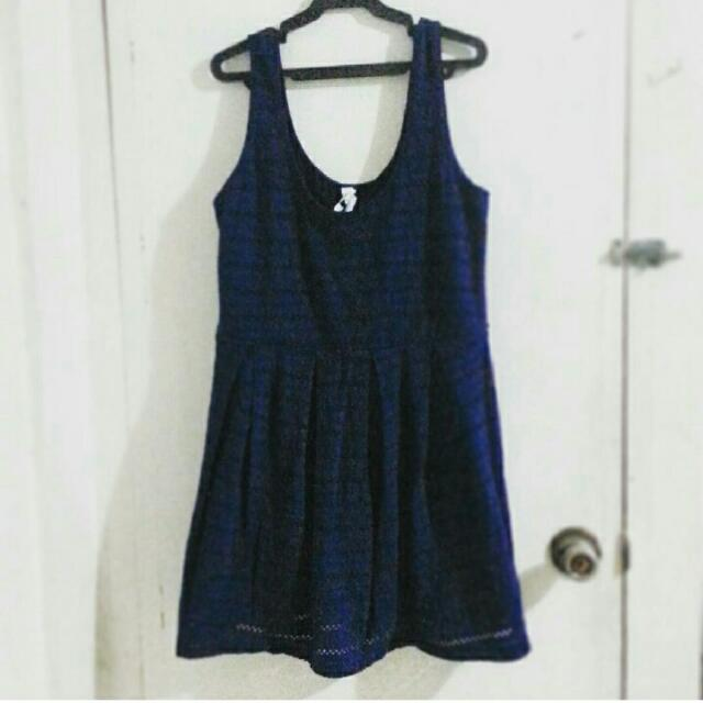 Bethany Mota Dress, Navy Blue