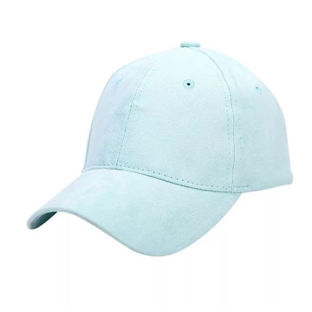 Blue Suede Cap