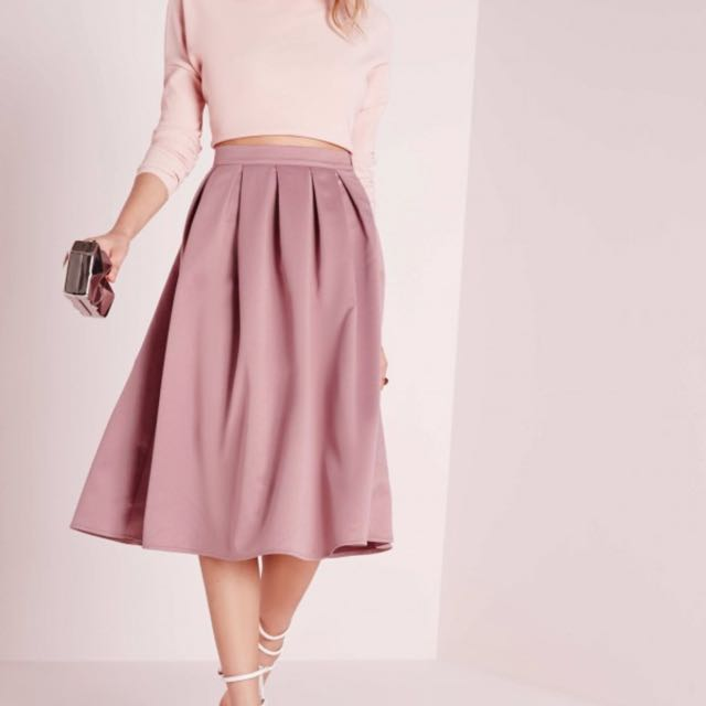 BNWT MissGuided Midi Skirt