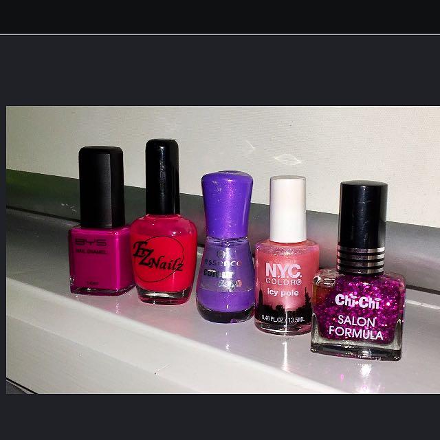 Brand New Nail Polishes