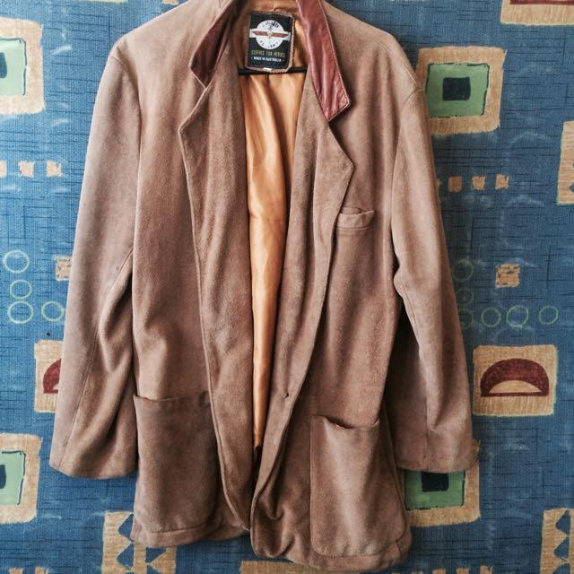 Caramel Leather Jacket.