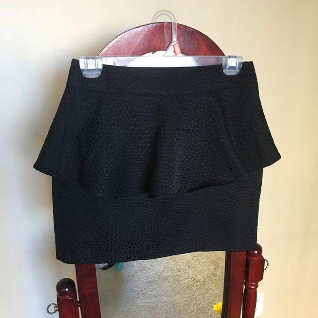 Cute Black Dynamite Skirt