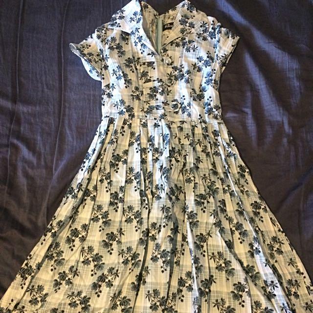 Dangerfield Revival Dress Size 8 Vintage Style