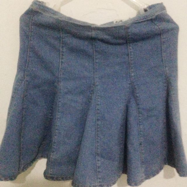 Denim Skirt By Play House