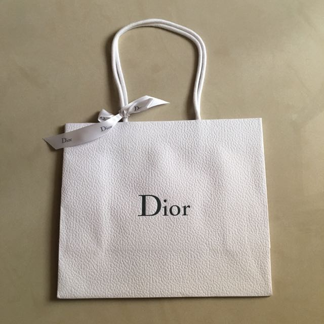 Dior 精品紙袋(附禮物絲帶)