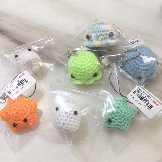 Amigurumi Safety Craft Eyes, Triangle and Heart Noses | 640x640