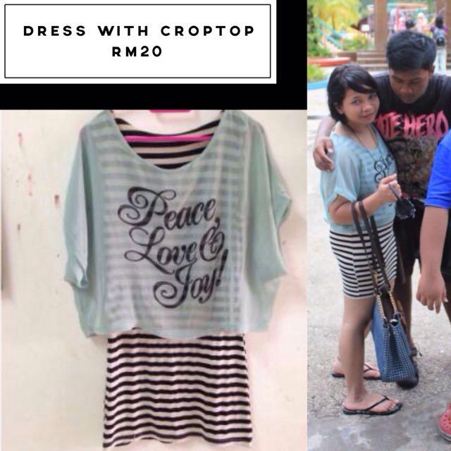 Dress Crop Top