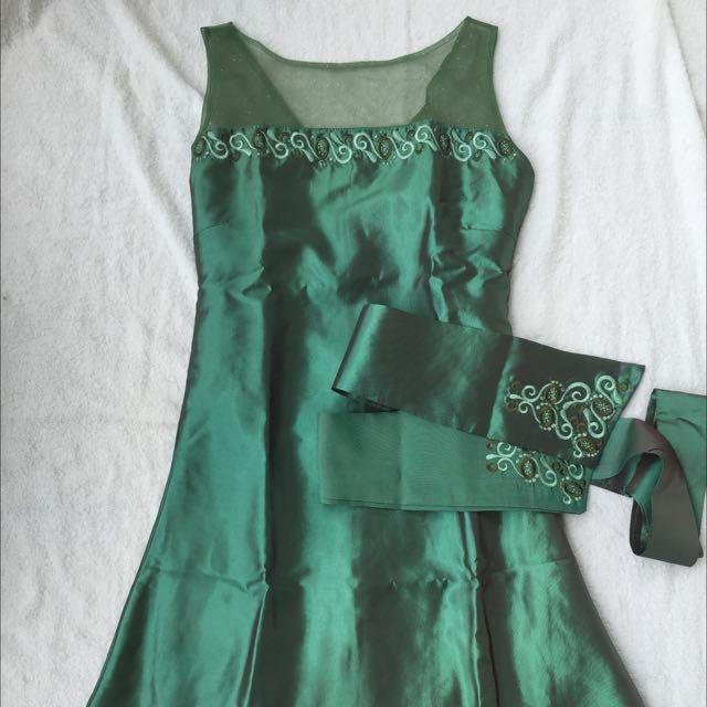 Dress Green Misstomom By Ivan Gunawan