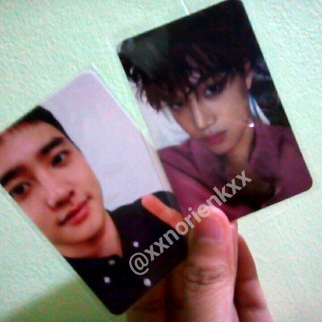 EXO Photocard (Official From Albums)