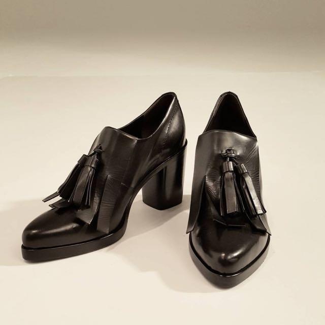 giordano/ladies流蘇粗跟鞋