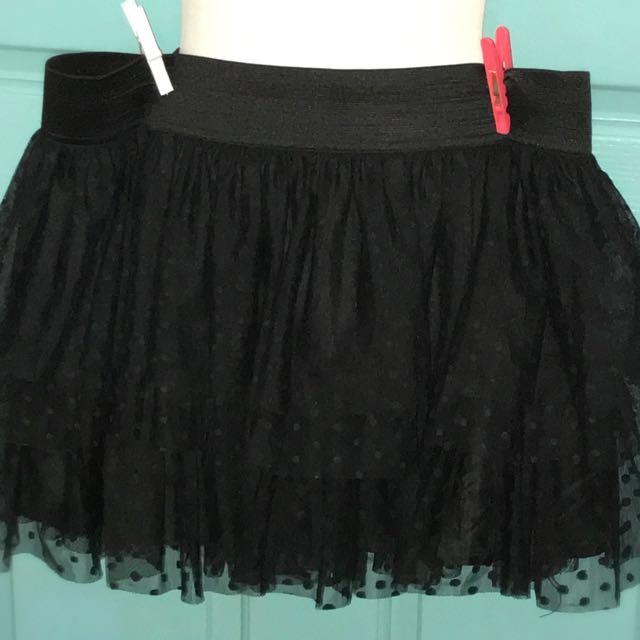 Gothic Lace Mini Skirt SZ16