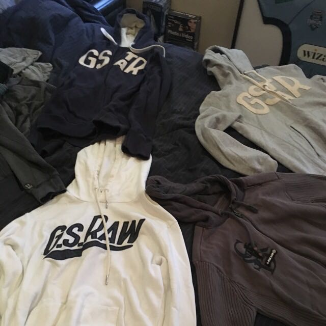 G-STAR AND HENLYS JUMPERS