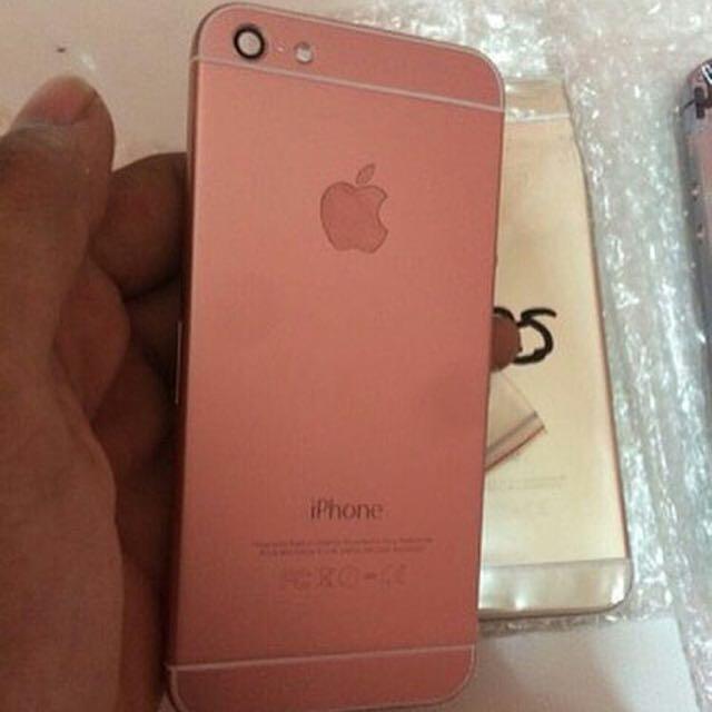 Housing 5 Versi Iphone 6 Rose Gold