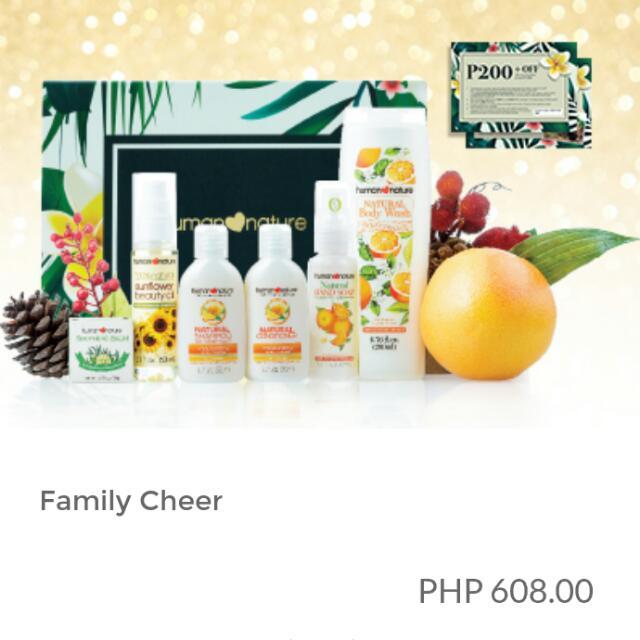 Human Heart Nature Family Cheer Gift Set