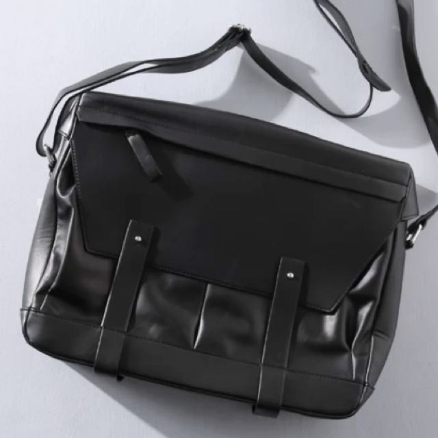 af1b38d50a ✓️INSTOCK! Premium Quality Mens Large Burlington Black Laptop Bag ...