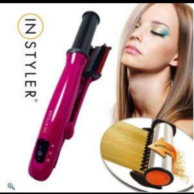Instyler第二代負離子兩用速效電動捲髮器
