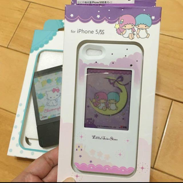 I-phone 5/5S 電池紙手機保護殼,買一送一