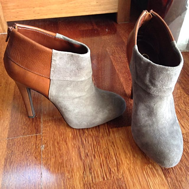 Jessica Simpson Heel Ankle Boots Size 36.5-37