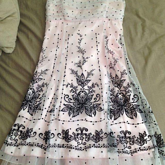 Jessica Size 12 Pink Dress