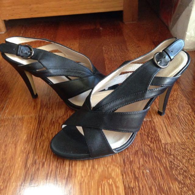 Joanne Mercer Heel Sandals Size 36.5