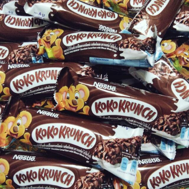 Koko krunch cereal bar food drinks on carousell ccuart Choice Image