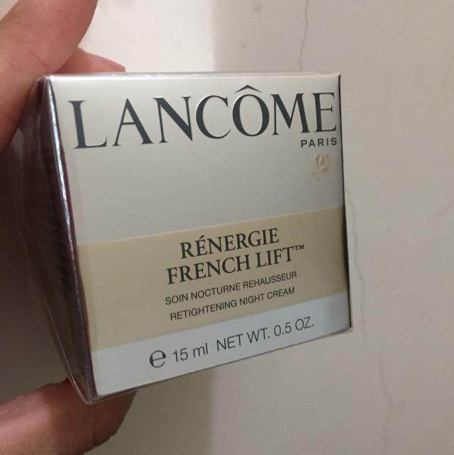 Lancôme 超緊顏5D彈力霜⤵️