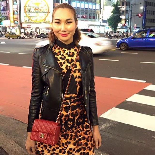 Leopard X Adidas Maxi Dress