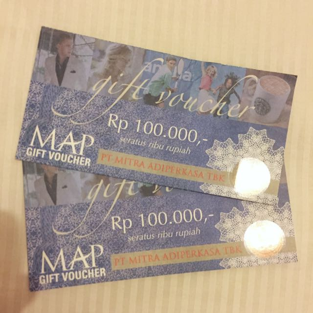MAP Voucher 200ribu