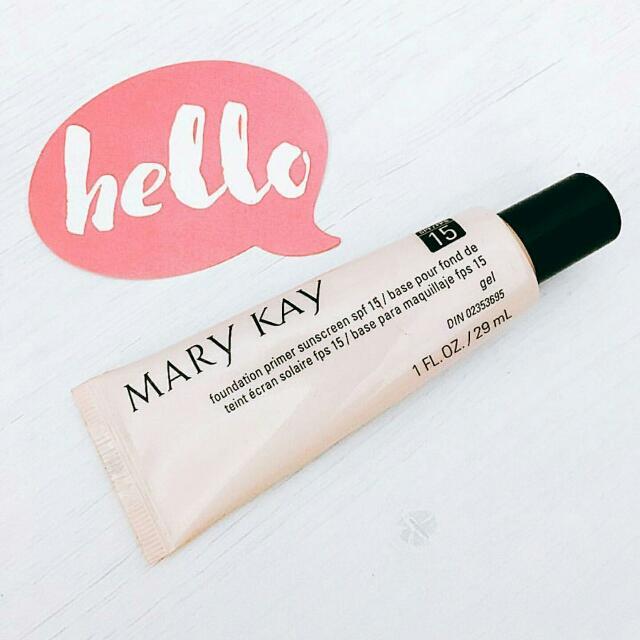 Mary Kay® Foundation Primer Sunscreen SPF 15 *Bestseller*