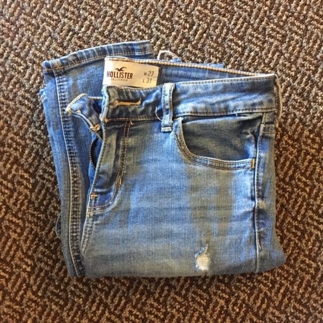 Medium Wash Hollister Skinny Jeans